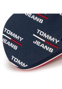 Niebieskie japonki Tommy Jeans z nadrukiem