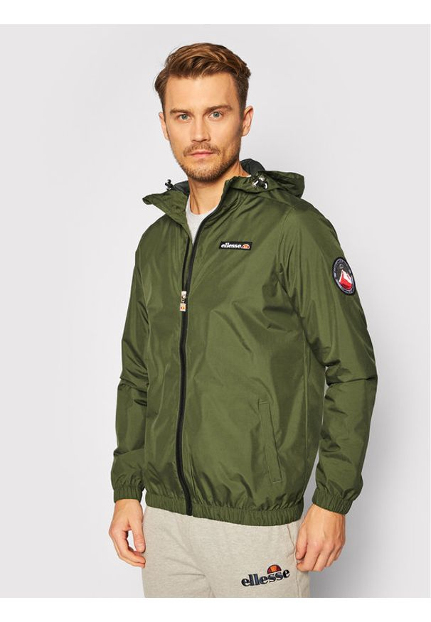Zielona kurtka przejściowa Ellesse
