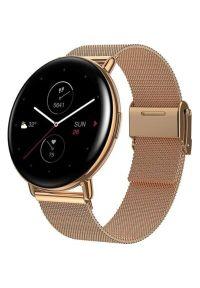 Złoty zegarek AMAZFIT smartwatch