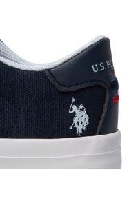 U.S. Polo Assn - Sneakersy U.S. POLO ASSN. - Matry154 MATRY4154S1/CY1 Dkbl. Okazja: na co dzień. Kolor: niebieski. Materiał: materiał. Szerokość cholewki: normalna. Styl: casual