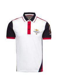 Koszulka polo Aeronautica Militare militarna, moro, polo