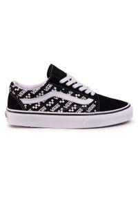 Czarne buty sportowe Vans Vans Old Skool, z cholewką