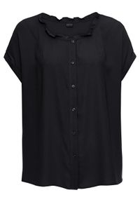 Czarna bluzka bonprix