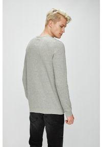 PRODUKT by Jack & Jones - Produkt by Jack & Jones - Sweter. Okazja: na co dzień. Kolor: szary. Styl: casual