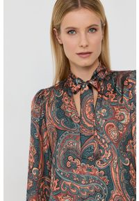 Nissa - NISSA - Sukienka. Okazja: na co dzień. Materiał: tkanina. Długość rękawa: długi rękaw. Typ sukienki: proste. Styl: casual