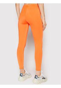 Ice Play Legginsy 21E U2M0 B051 P437 3165 Pomarańczowy Slim Fit. Kolor: pomarańczowy