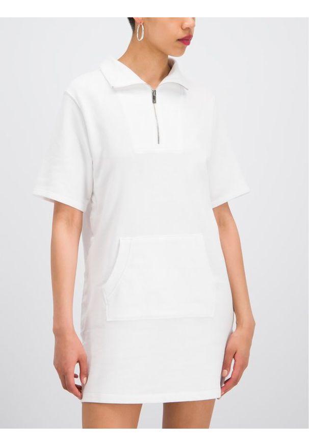 Biała sukienka DKNY casualowa, sportowa, na co dzień