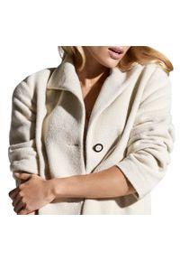 Biały płaszcz Wittchen klasyczny