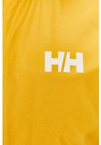 Żółta kurtka Helly Hansen z kapturem, na co dzień, casualowa, gładkie
