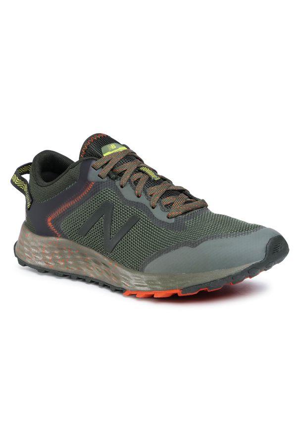 Zielone buty do biegania New Balance z cholewką
