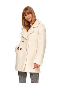 Biały płaszcz TOP SECRET
