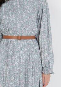 Born2be - Jasnoniebieska Sukienka Daphnahria. Kolor: niebieski