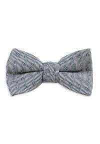 Niebieska muszka Chattier elegancka, w paski