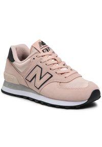 Różowe sneakersy New Balance 574