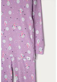 Fioletowa piżama GAP