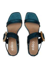 Zielone sandały Edeo