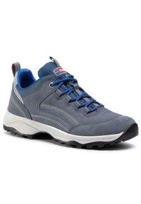 Niebieskie buty trekkingowe Olang trekkingowe, z cholewką