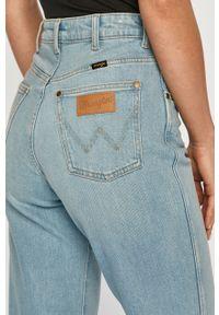 Niebieskie jeansy loose fit Wrangler