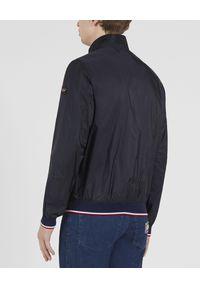 PAUL & SHARK - Granatowa kurtka Newport Bomber. Okazja: na co dzień. Kolor: niebieski. Materiał: jeans. Styl: elegancki, casual, sportowy