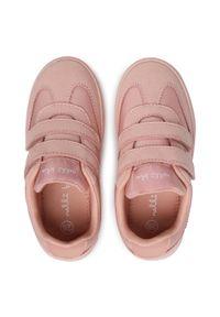 Nelli Blu - Sneakersy NELLI BLU - CP40-9987W Pink. Okazja: na spacer. Zapięcie: rzepy. Kolor: różowy. Materiał: materiał. Szerokość cholewki: normalna