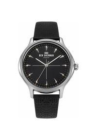 Czarny zegarek Ben Sherman elegancki