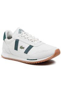 Lacoste Sneakersy Partner Retro 0721 1 Sma 7-41SMA00801R5 Biały. Kolor: biały