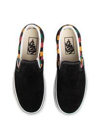 Czarne buty sportowe Vans Vans Classic, z cholewką