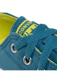 Converse Trampki Ctas Ox 667790C Niebieski. Kolor: niebieski