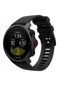 Czarny zegarek POLAR sportowy