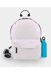 MegaKoszulki - Plecak szkolny fullprint (gładki, bez nadruku). Materiał: materiał. Wzór: gładki