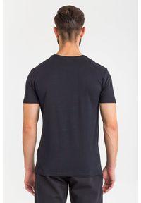 T-shirt Trussardi Jeans na co dzień, z okrągłym kołnierzem #4