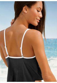 Biały strój kąpielowy dwuczęściowy bonprix
