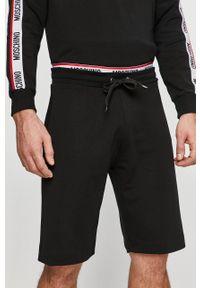 Czarne szorty Moschino Underwear casualowe, na co dzień