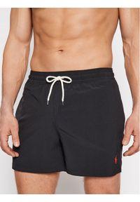 Polo Ralph Lauren Szorty kąpielowe Traveler 710837404009 Czarny Slim Fit. Kolor: czarny