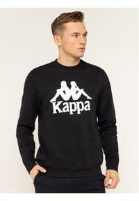 Kappa Bluza Sertum 703797 Czarny Regular Fit. Kolor: czarny