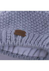 Zimowa czapka dziewczęca PaMaMi - Lodowy. Materiał: poliamid, akryl. Sezon: zima