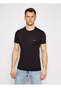 Czarny t-shirt VERSACE