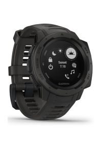 Szary zegarek GARMIN sportowy