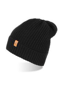 Czarna czapka BRODRENE elegancka, na zimę