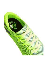 Adidas - Buty piłkarskie dla dzieci turfy adidas Nemeziz 19.4 TF FV3314. Materiał: materiał, syntetyk, guma. Szerokość cholewki: normalna. Sport: piłka nożna