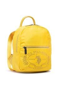 U.S. Polo Assn - Plecak U.S. POLO ASSN. - Springfield Backpack Bag BEUPA5090WIP300 Yellow. Kolor: żółty. Materiał: materiał. Styl: klasyczny