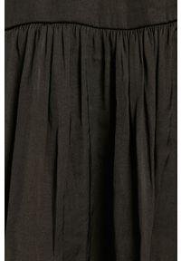 Czarna sukienka Jacqueline de Yong z długim rękawem, na co dzień