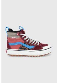 Vans - Trampki. Nosek buta: okrągły. Zapięcie: sznurówki. Materiał: polar, guma. Szerokość cholewki: normalna