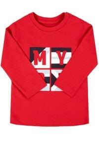 Mayoral Bluzka 108 Czerwony Regular Fit. Kolor: czerwony