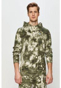 Russell Athletic - Bluza bawełniana. Okazja: na co dzień. Kolor: zielony. Materiał: bawełna. Styl: casual