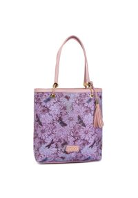 Fioletowa torebka klasyczna Nobo klasyczna