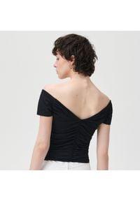Sinsay - Koszulka - Czarny. Kolor: czarny