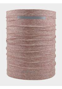Różowe nakrycie głowy outhorn melanż, na zimę