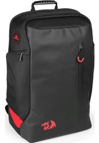 Czarny plecak na laptopa REDRAGON w kolorowe wzory