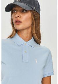 Niebieska sukienka Polo Ralph Lauren polo, na co dzień